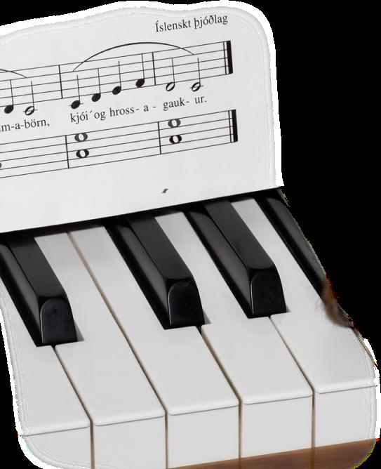 rose et piano